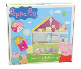Peppa Pig Save The Balloon 3D Game