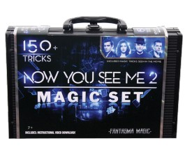 NOW YOU SEE ME 2 -MAGIC CASE-150 TRICKS