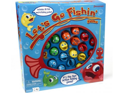 LETS GO FISHING GAME