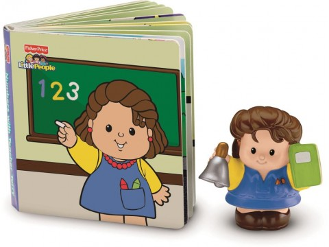 FISHER PRICE TEACHER TERRY/EDDIE