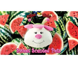 PILLOW PETS 14IN SCENTED LADYBUG WATERMELON