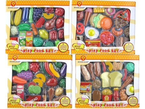 Play House Play Food Set- Assorted