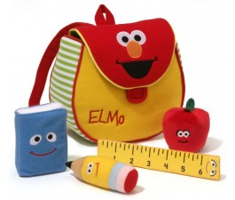 Elmo Bookbag Playset