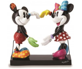 Disney Britto Mickey And Minnie Heart