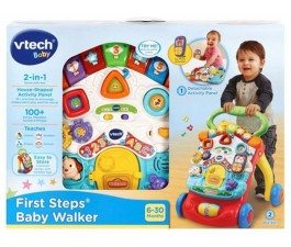 First Steps Baby Walker Yellow