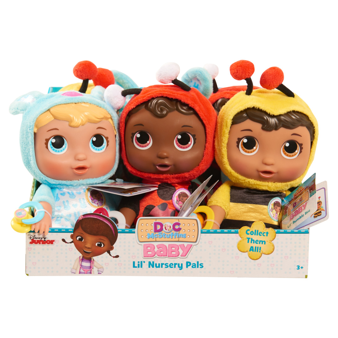 Doc Mcstuffins Baby Checkup Lil Nursery Pals Assorted