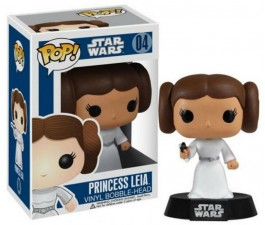 Star Wars - Princess Leia Pop! Vinyl Bobble Figure