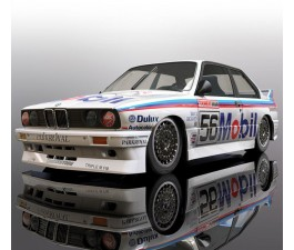 Scalextric BMW E30 1988 Peter Brock Bathurst #56