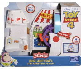 Toy Story 4 Mini Buzz Lightyear Playset