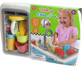 Playgo Washup Kitchen Sink 20Pc