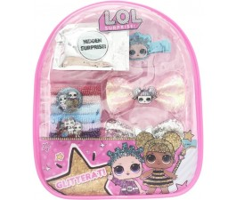 L.O.L. Surprise! Hair Accessory Backpack Set