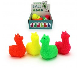 Cushy Frizzee Light Up Llama - 12Cm Assorted