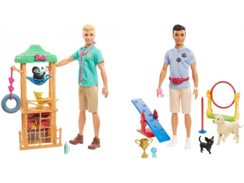 BARBIE - KEN PLAYSET ASST