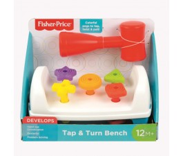 Fisher Price - Tap & Turn Bench