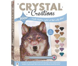 Crystal Creations:Wolf In Snow