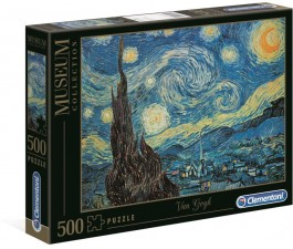 Clementoni 500Pce - - Van Gogh - Starry Night