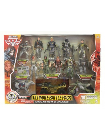 THE CORPS! ULTIMATE 10-FIGURE BATTLE PACK