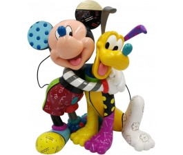 Britto - Mickey Mouse With Pluto 90th Anniversary Lge