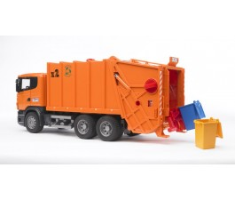 Bruder 1/16 Scania R Series Garbage Truck (Orange)