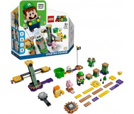 LEGO 71387 Super Mario Adventures with Luigi Starter Course - Available August 1
